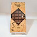 Chocolade cadeaukaart breekplak