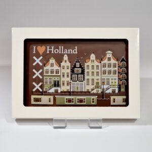 Chocolade cadeaukaart I love Holland