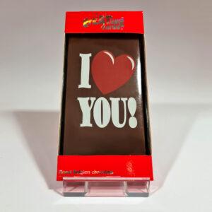 Chocolade kaart (Love you hart)